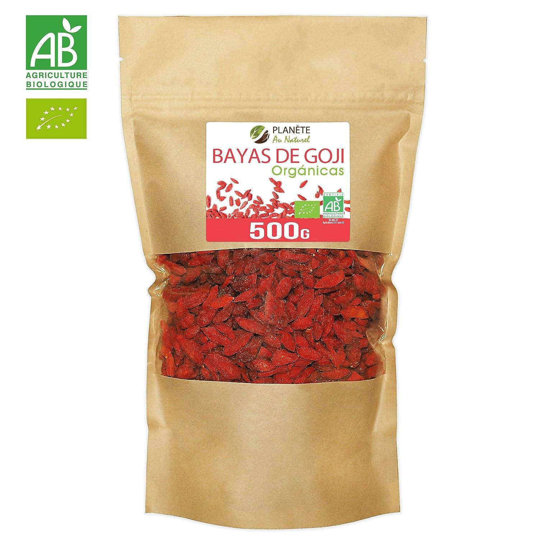 Bayas De Goji Orgánicas - 500g: Amazon.es: Alimentación y bebidas