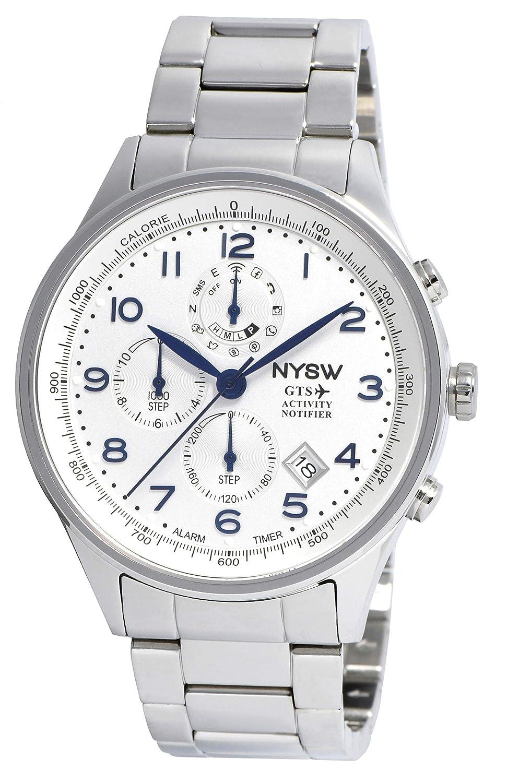 NYSW - Reloj Inteligente híbrido - Impresionante Reloj de Segunda ...