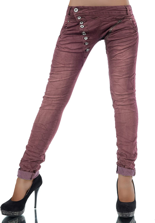 Diva-Jeans Donna Jeans Boyfriend Basic