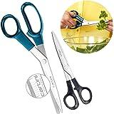 Cartini Godrej Kitchen Scissors kit, 2 Pc Set Set, Stainless Steel (AISI 420J2).