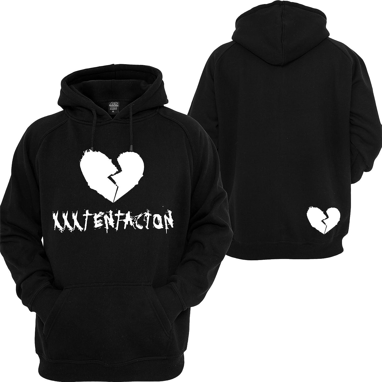 Custom Teez Xxxtentacion Hoodie Revenge Heart Kill Bad Vibes Forever Sweatshirt