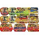 明星 一平ちゃん 詰め合わせ 6種類 各2個 1箱:12個入り(カップ麺3種・焼そば3種)+高森ナポリタン1袋