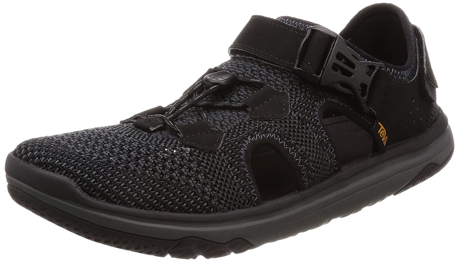 Teva - Men's Terra-Float Travel Knit - Black/Grey - 7 B071GYKVVS 11 W US|Black/Grey