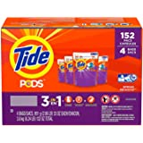 Tide PODS 3 in 1 Turbo Laundry Detergent Pacs, Spring Meadow Scent (152 Count)