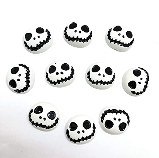 10 Wooden Birthday Cake Buttons Card Making Scrapbook Craft Embellishments