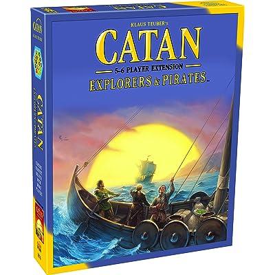 Catan Extension: Explorers & Pirates 5-6 Player: Toys & Games