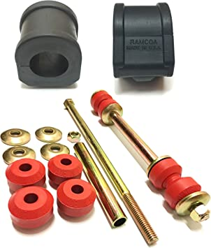 Suspension Kit For Cadillac Chevrolet GMC and Hummer PartsW MADE IN USA 2 Pcs Sway Bar End Links