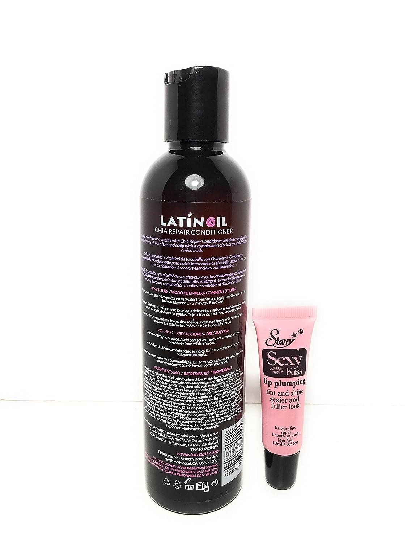 Amazon.com: latinoil aceite de semillas de chía Champú ...