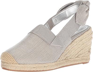 Helma Espadrille Wedge Sandal, Silver