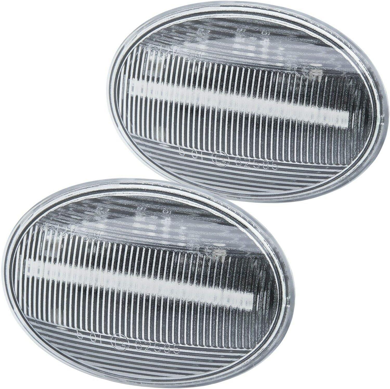 rm-style 7139 Clignotant LED pour BMW Mini R55 R56 R57 R58 R59 R59 Verre Clair