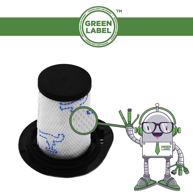Green Label Filtro Spugna per gli Aspirapolvere Rowenta Air Force All in One 460 RH92 Alternativa a ZR009002