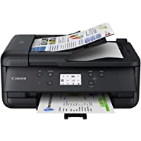 Canon PIXMA TR7620 Wireless Home Office All-in-One Inkjet Printer with ADF, Black (4452C003)