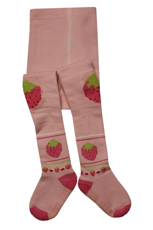 Weri Spezials Bebes-Filles ABS Fraises Collants Rose