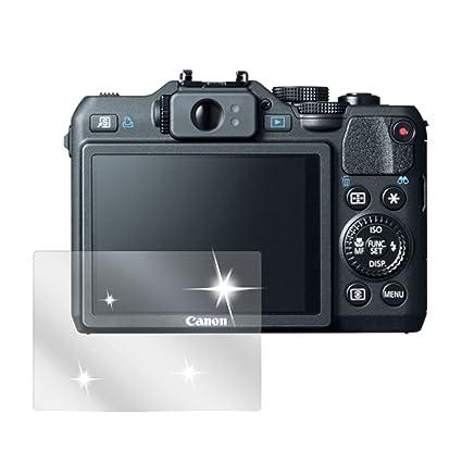 dipos I 6X Protector de Pantalla Compatible con Canon EOS 700D pelicula Protectora Claro