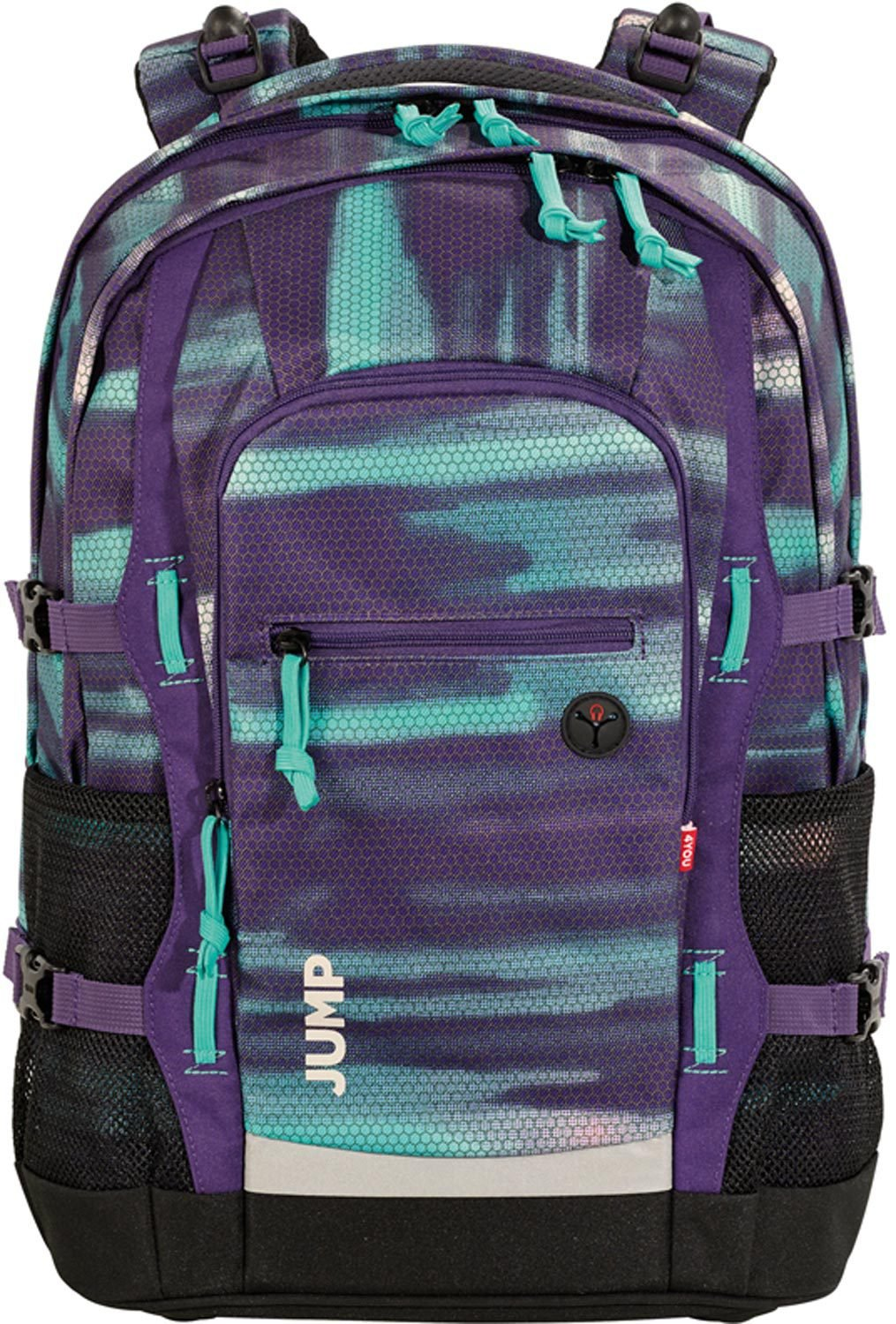 66c66147e6569 4YOU Basic School Rucksack Set 3 Pieces Jump 842 Shades Purple 842 Shades  Purple  Amazon.co.uk  Office Products