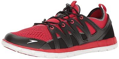 Speedo Men's The Wake Athletic Water Shoe, Fiery Red, ...