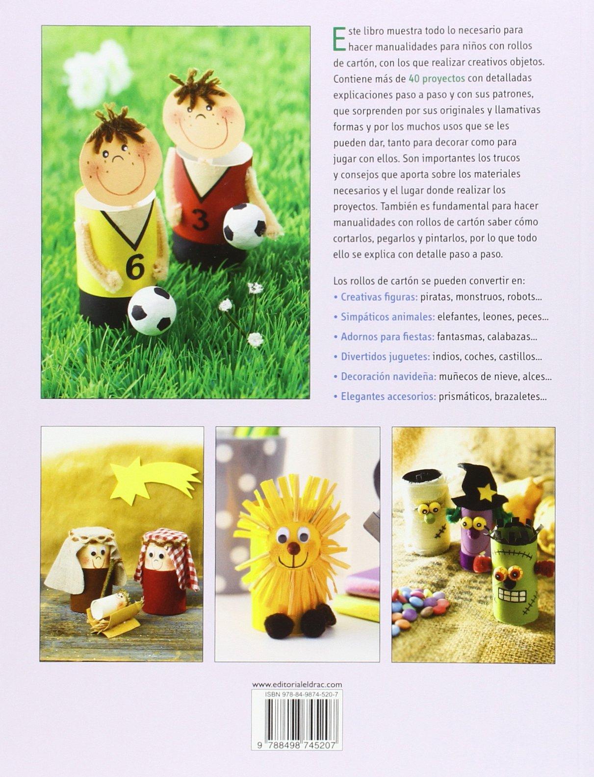 Manualidades para niños con rollos de cartón: SCHMITT: 9788498745207: Amazon.com: Books