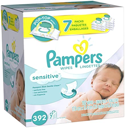 Review Pampers Sensitive Baby Wipes