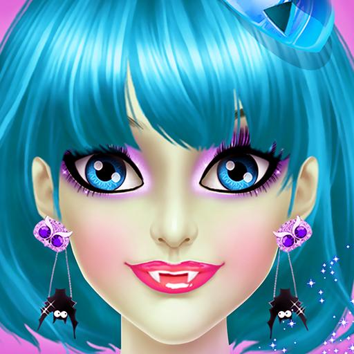 Halloween Girl Makeup Salon (Character Education Trimmer)
