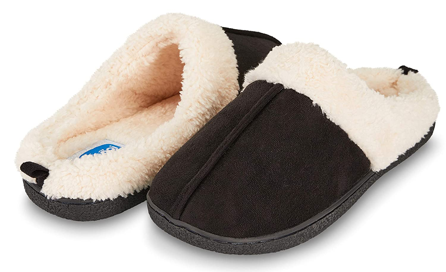 46b448d54 Amazon.com | Floopi Womens Indoor Outdoor Fur Lined Clog Slipper W/Memory  Foam | Slippers
