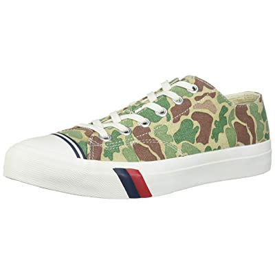 PRO-Keds Men's Royal Lo Washed Camo Canvas Sneaker | Fashion Sneakers