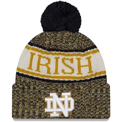 51ac86b11 Amazon.com : New Era Notre Dame Fighting Irish NE18 Cold Weather ...