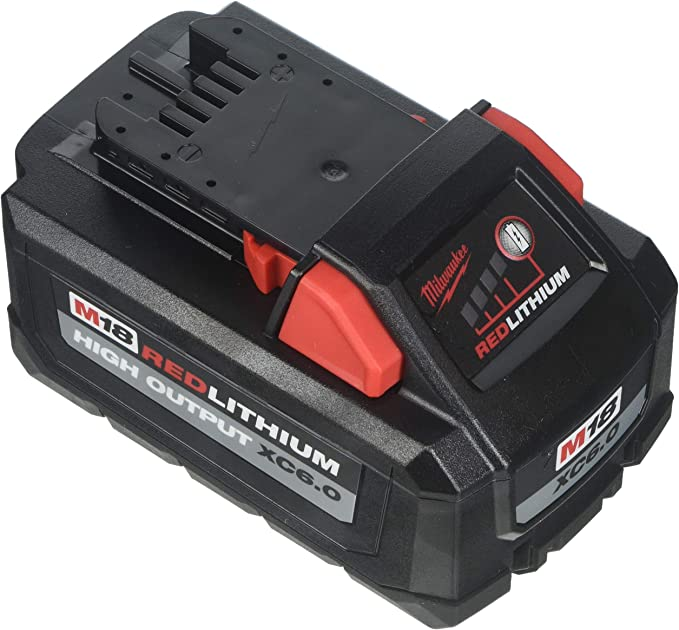 Milwaukee Electric Tools 48-11-1865 Red lithium High Output Battery Pack - - Amazon.com