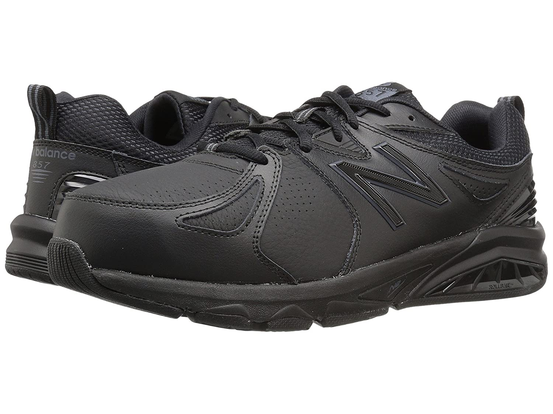 (ニューバランス) New Balance メンズトレーニング競技用シューズ靴 MX857v2 Black/Black 8 (26cm) EE - Wide   B0789B7LK2