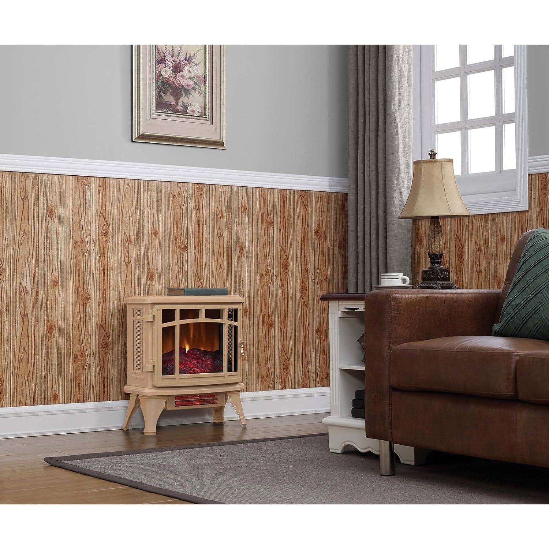 Amazon.com: Duraflame Infrared Quartz Stove Heater With Flame Effect, Tan |  DFI 8511: Home U0026 Kitchen