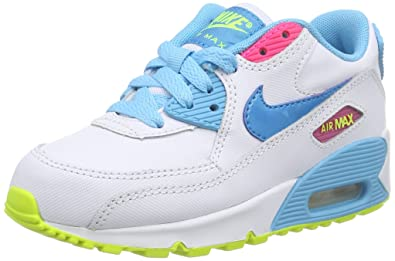new product 08000 4cb08 Nike Air Max 90 Premium Mesh Copa White Blue Lagoon 724876-400 (