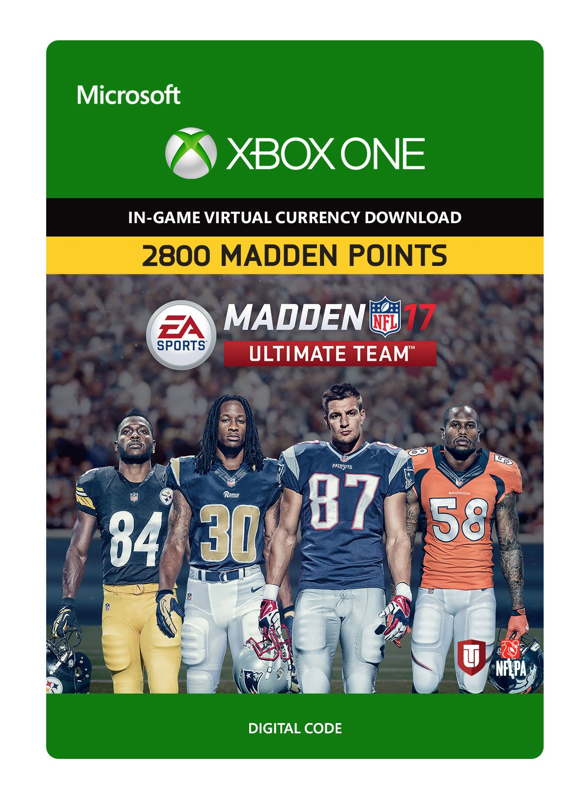 Madden NFL 17: MUT 2800 Madden Points Pack - Xbox One Digital Code
