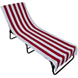 Chair Cover Punctual Chair Beach Towel Lounge Chair Beach Towel Cover Microfiber Pool Lounge Chair Cover With Pockets Quick Drying 82.5''x27.5''