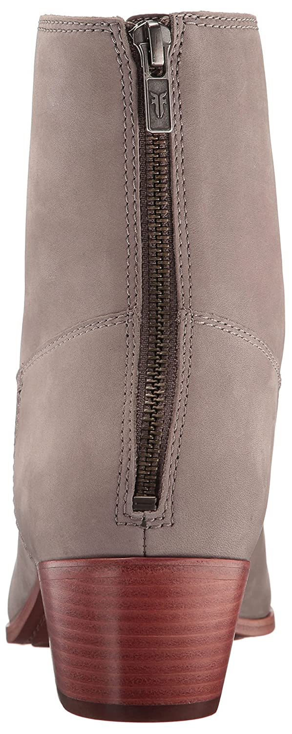 FRYE Women's Ellen Short Western Boot B01H4X8I9A 8 B(M) US|Grey