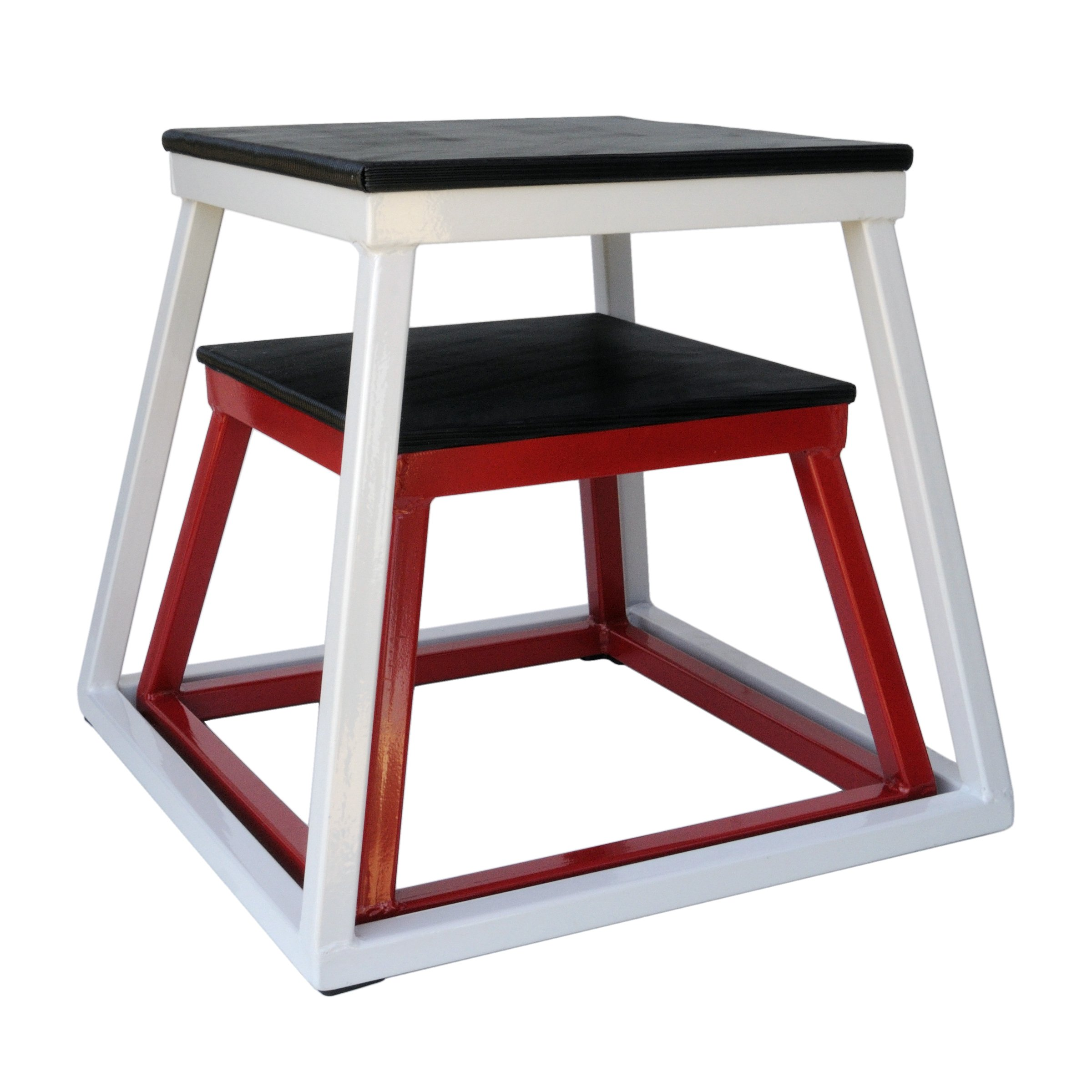 Ader 12'', 18'' Plyo Boxes (Red + White)