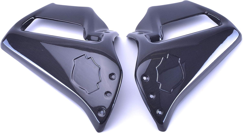 CBHD-VRSCF-SFR Black Carbon Fiber Side Fairings for Harley Davidson VRSCF V-Rod Muscle Bestem