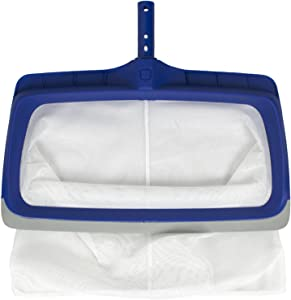 Poolmaster Deluxe Heavy Duty Vinyl Liner Swimming Pool Rake with Rubber Bumper for Above Ground or In Ground Pools