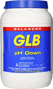 GLB Pool and Spa Products 71242 10-Pound pH Down Pool Water Balancer