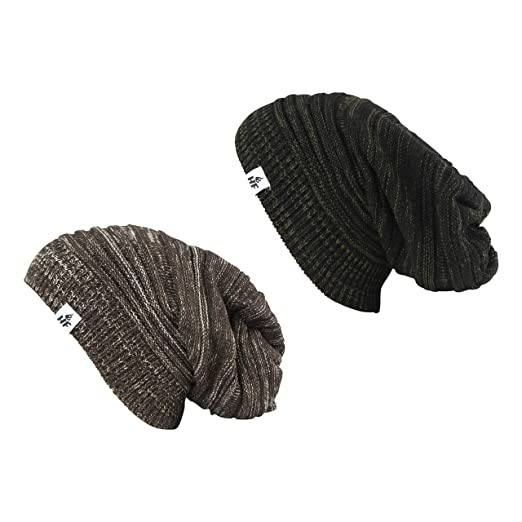 251240afd2622 HOT FEET Unisex Winter Slouch Beanies
