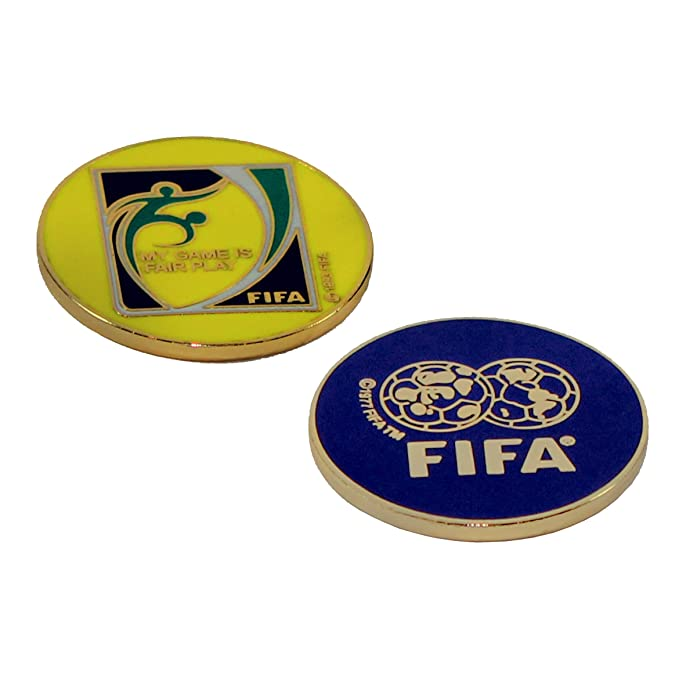Amazon.com: Fútbol (Fútbol) Árbitro Flip/Toss Moneda: Sports ...