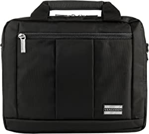 11.6 to 12.3 inch Laptop Tablet Messenger Bag for Dell 2in1, Inspiron, XPS, Latitude, Chromebook
