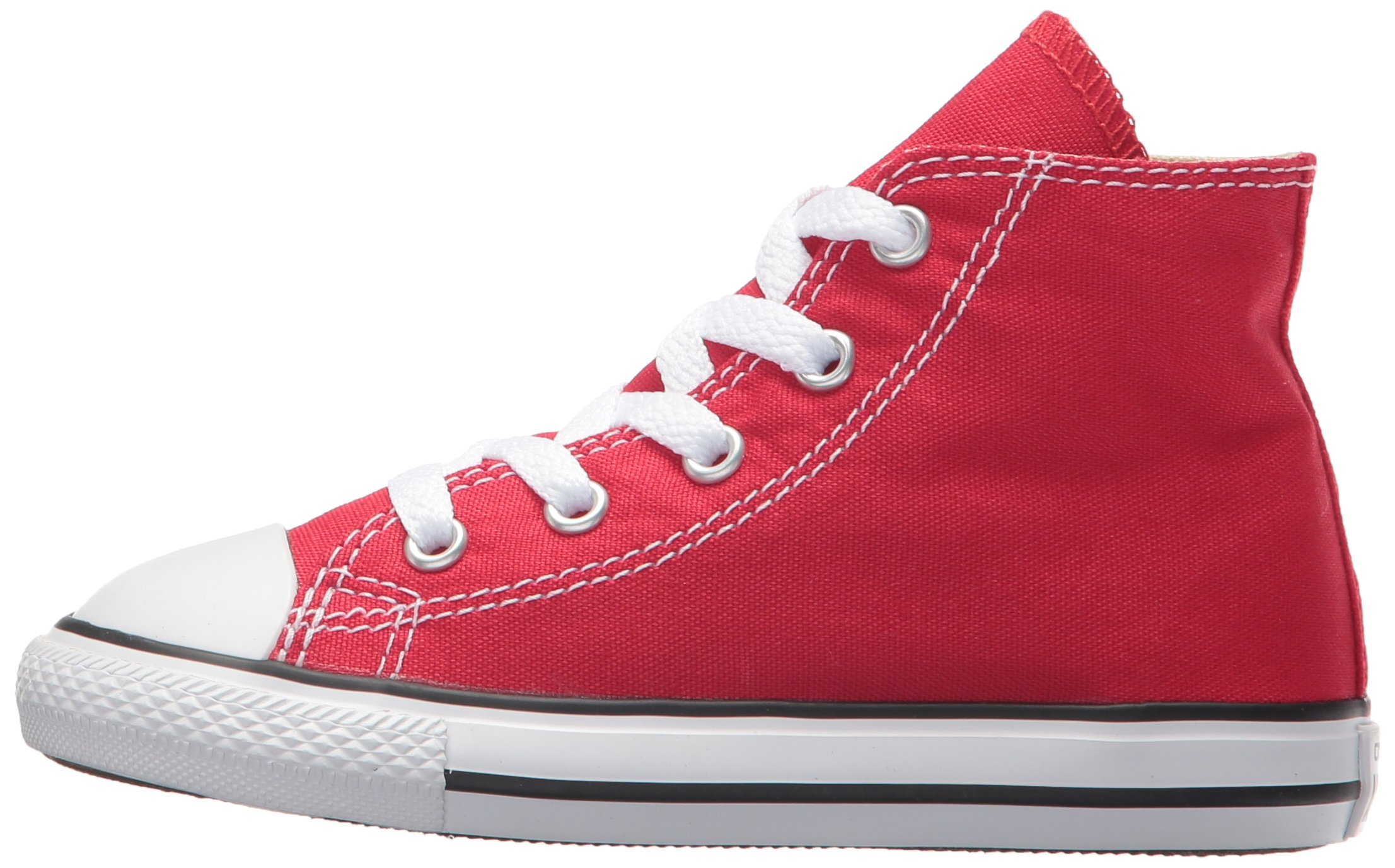 Converse Kids Chuck Taylor Classic Hi Red Sneaker - 10.5 by Converse (Image #5)
