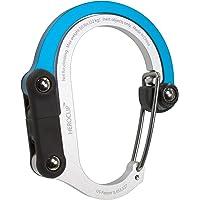 HEROCLIP Mousqueton Porte clé avec Clip Multifonction 3-en-1 avec Crochet Pliant Rotatif - Clip Solide pour Camping, Voyage, L'Aventure, Accessoires de Sport