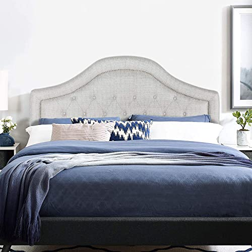 Adeco Queen Upholstered Headboard