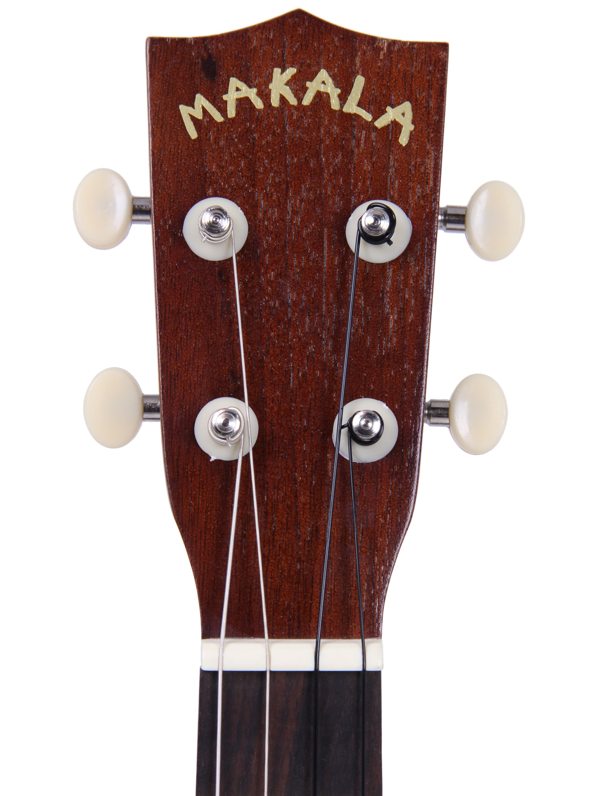 Kala MK-B Makala Baritone Ukulele Bundle with Hard Case, Clip-On Tuner, Austin Bazaar Instructional DVD, and Polishing Cloth