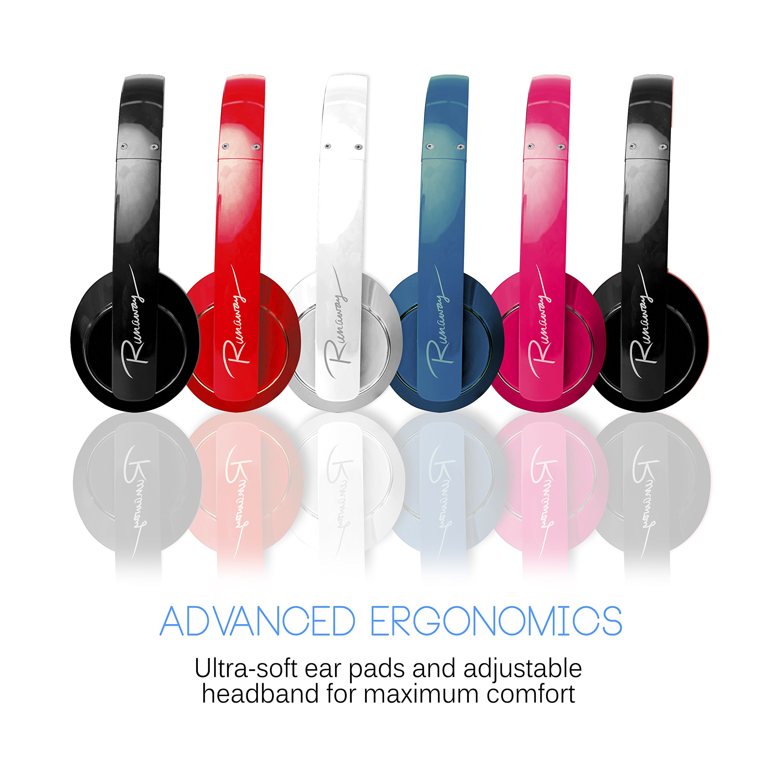 MEE audio Runaway 4.0 Bluetooth Stereo Wireless + Wired Headphones with Microphone (Black) by MEE audio (Image #6)