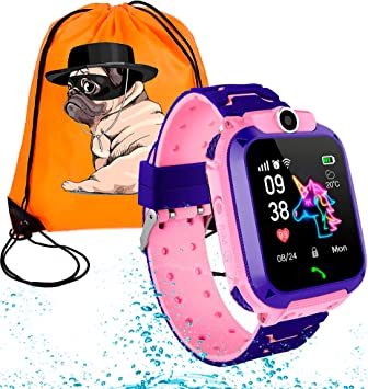 Koopete.Smartwatch niños Impermeable.Regalo de Mochila.Reloj ...