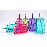 MC-Trend - Vasos de colores con tapa
