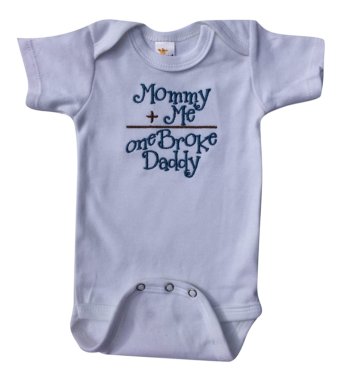 Amazon JustBabyz Baby Boy esie Mommy and Me e Broke Daddy