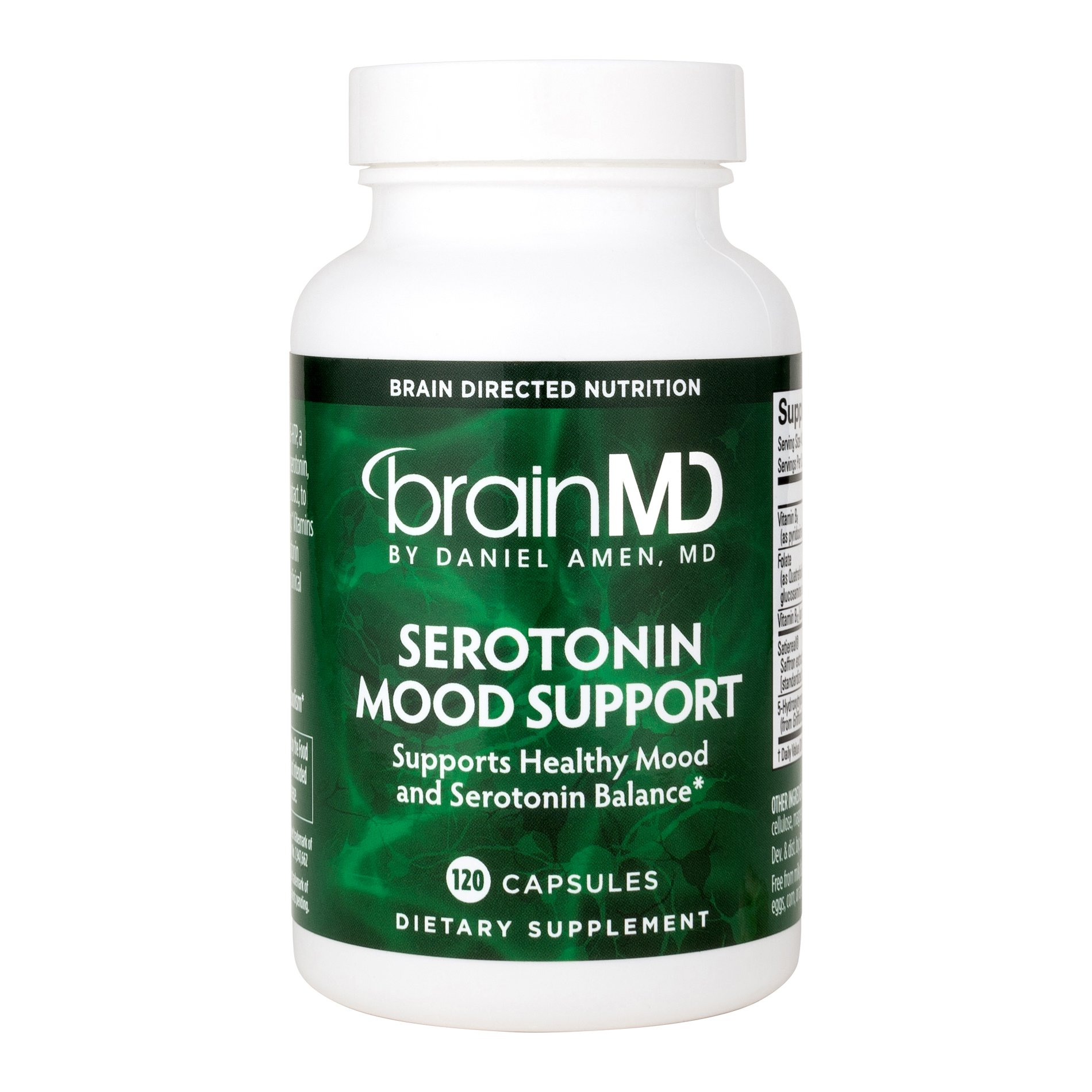 Dr. Amen Serotonin Mood Support Natural Supplement to Enhance Your Mind, Memory and Mood