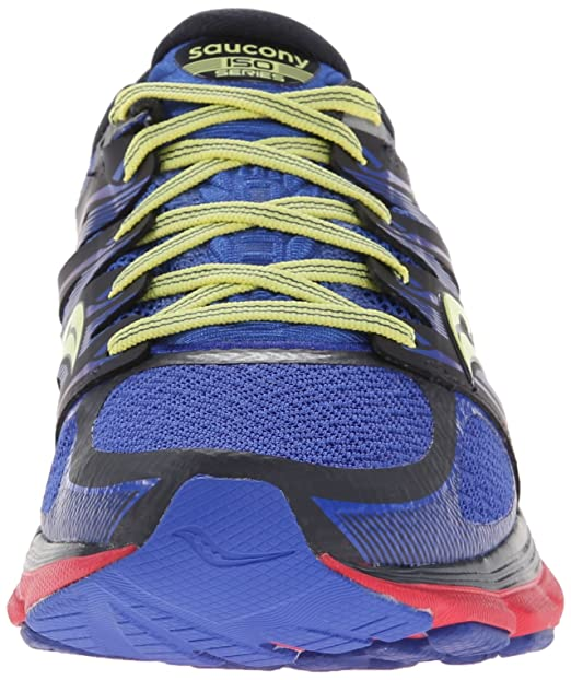 108804d5bbac Buy Saucony Women s Zealot ISO Running Shoe Navy Pink Lime 5.5 B(M) US  Online at Low Price in India